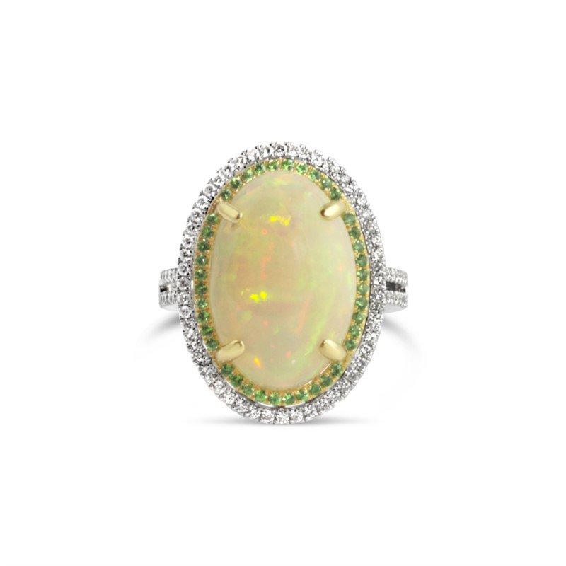 Moses Signature Ethiopian Opal Ring