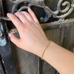Wear-EVERY-Where Gold Beaded Bracelet