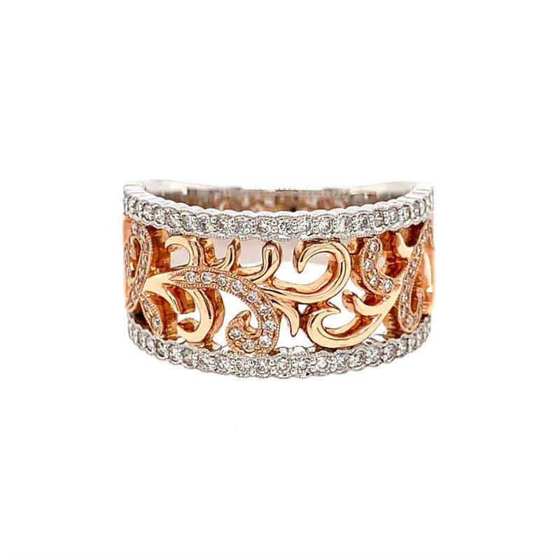 Coast Diamond Rose & White Gold Ring