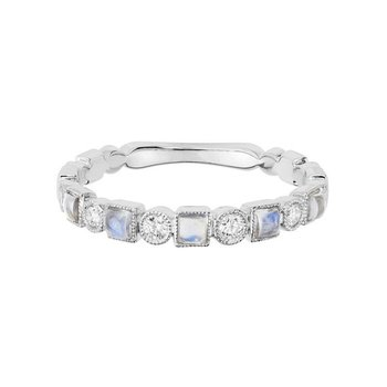 Moonstone Stackable Ring
