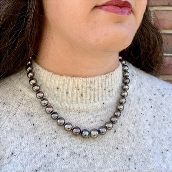 Black Tahitian Pearls