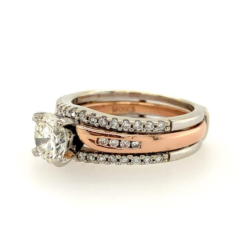 Signature Estate Two-Tone Diamond Ring