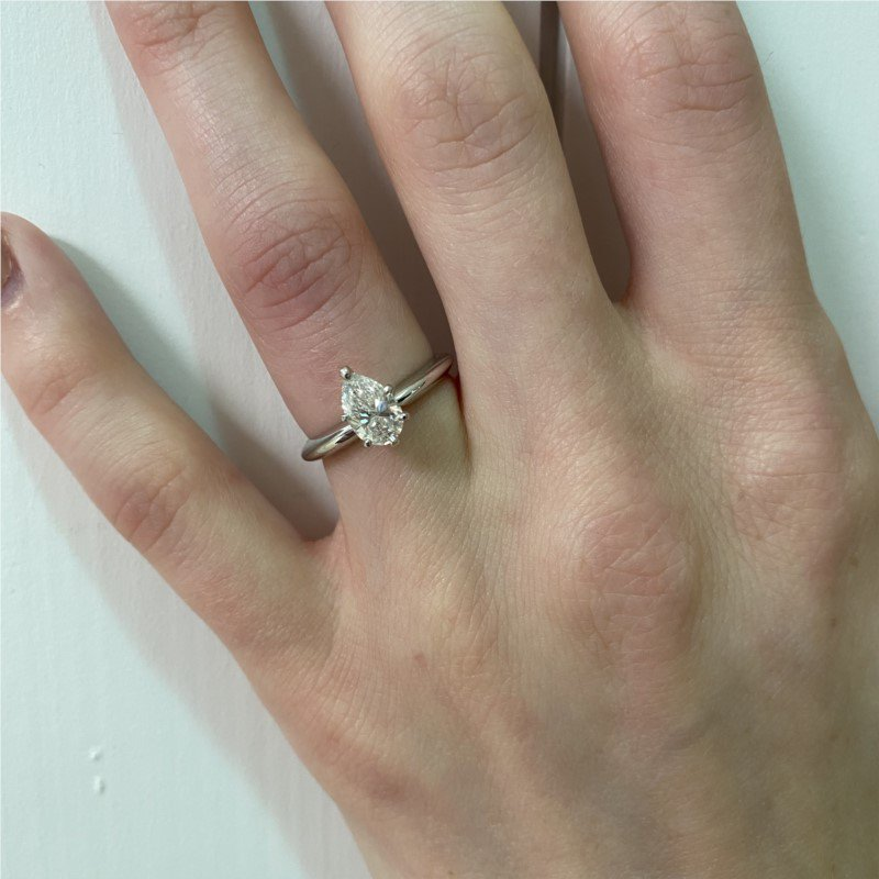 Moses Signature Solitaire Engagement Ring