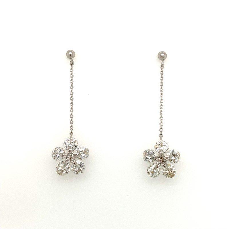 Signature Estate Dangle Flower Earrings