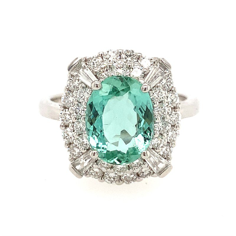 Signature Estate Mint Tourmaline Ring
