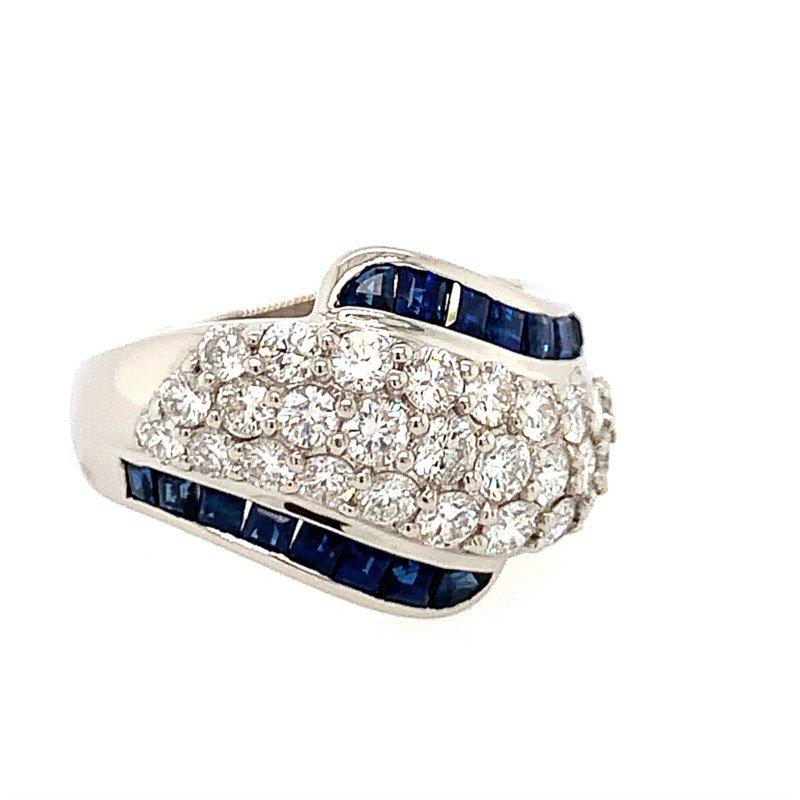 Signature Estate Sapphire and Diamond Ring