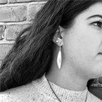 Lika Behar Inversion Leaf Earrings