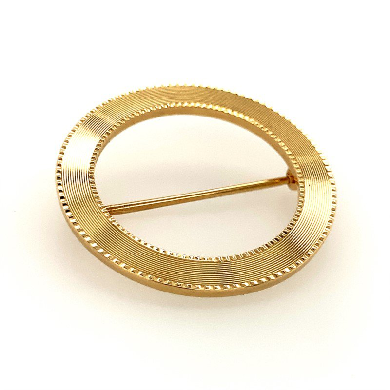 Signature Estate Circle Pin
