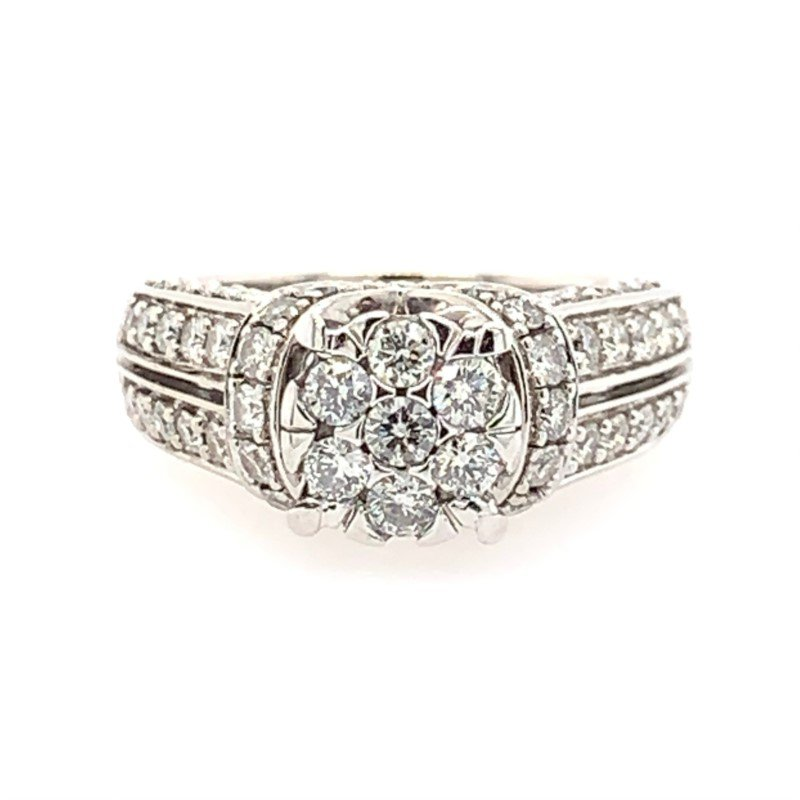 Signature Estate Cluster Engagement Ring