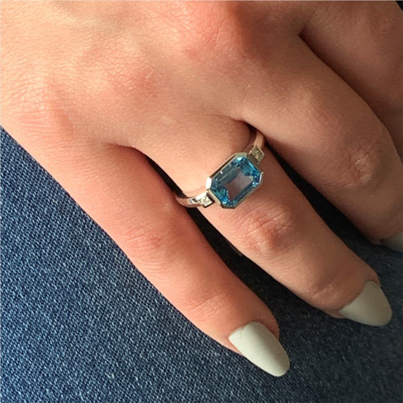 Wear-EVERY-Where Blue Topaz Ring