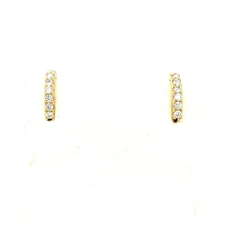 Moses Signature Diamond Earrings