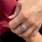 Moses Signature Tanzanite Ring