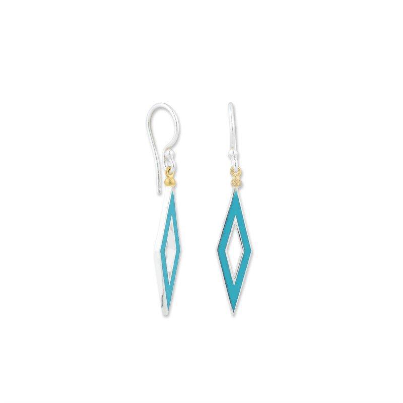 Lika Behar Reversible Enamel Earrings