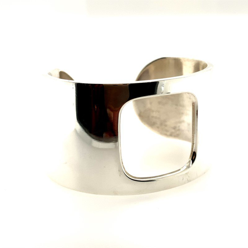 Signature Estate Sterling Silver French Designer Cuff