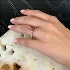 Coast Diamond Pink Tourmaline Ring