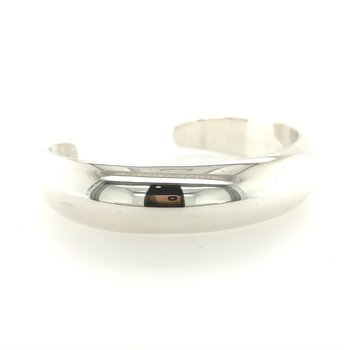 Sterling Silver Domed Cuff