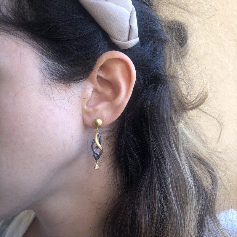 Lika Behar Twirl Earrings