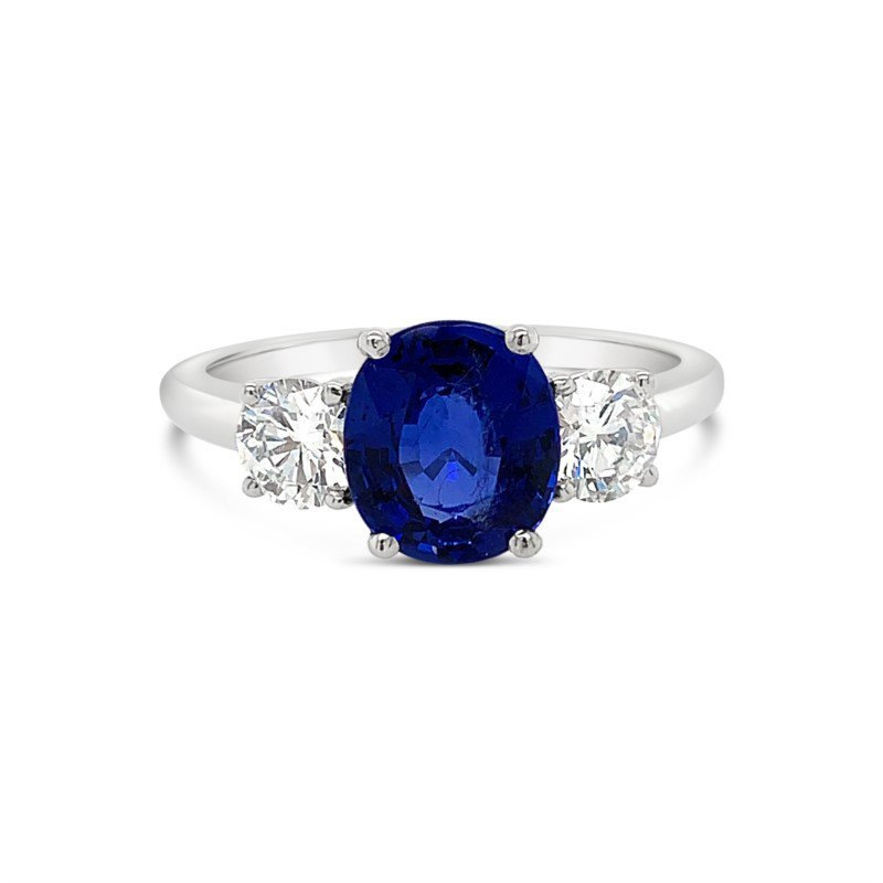 Moses Signature Sapphire Ring
