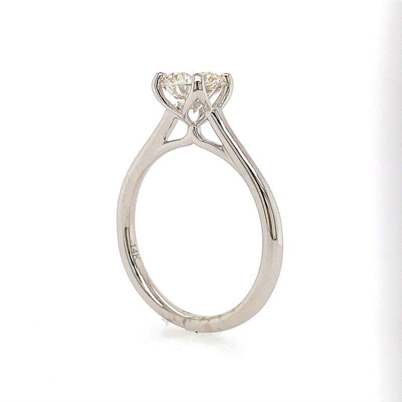 Coast Diamond Solitaire Engagement Ring