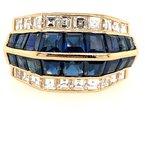 Signature Estate Sapphire & Diamond Ring