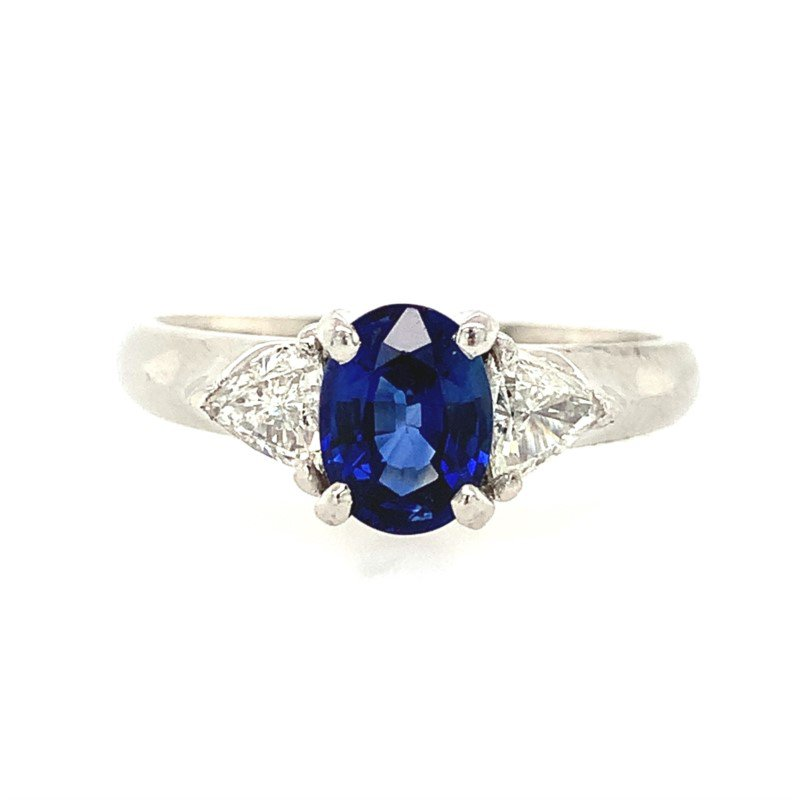 Signature Estate Blue Sapphire Ring