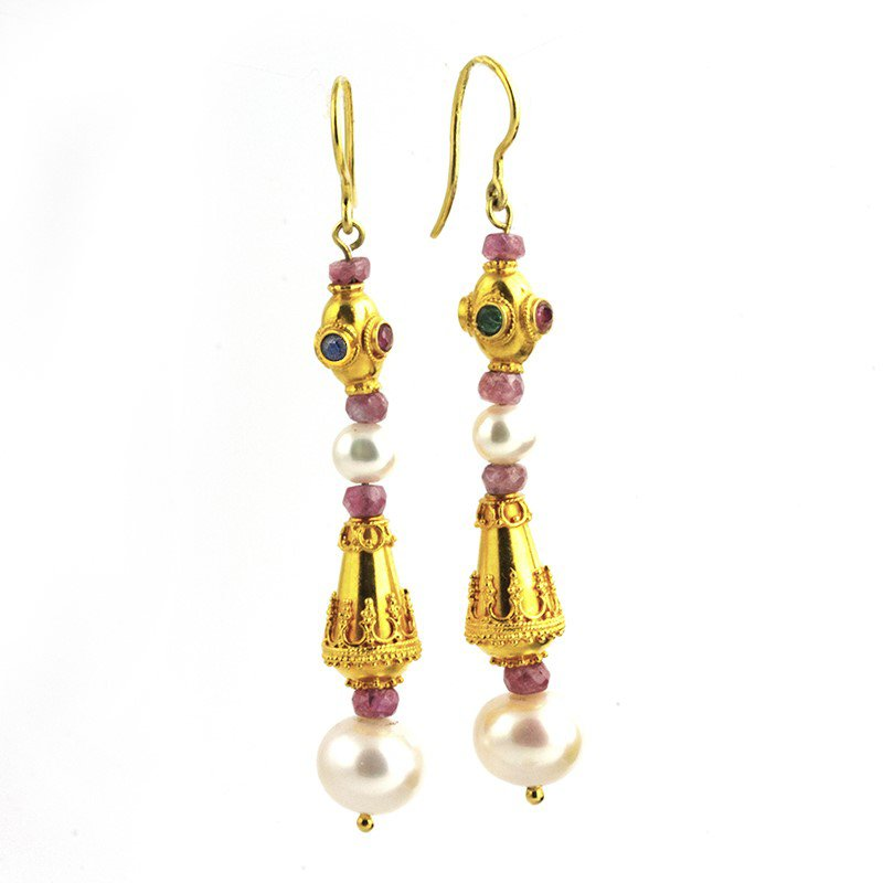 Signature Estate Pearl Earrings