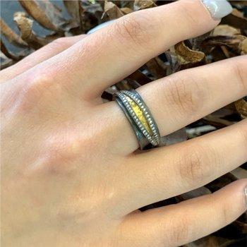 Inversion Yin & Yang Ring