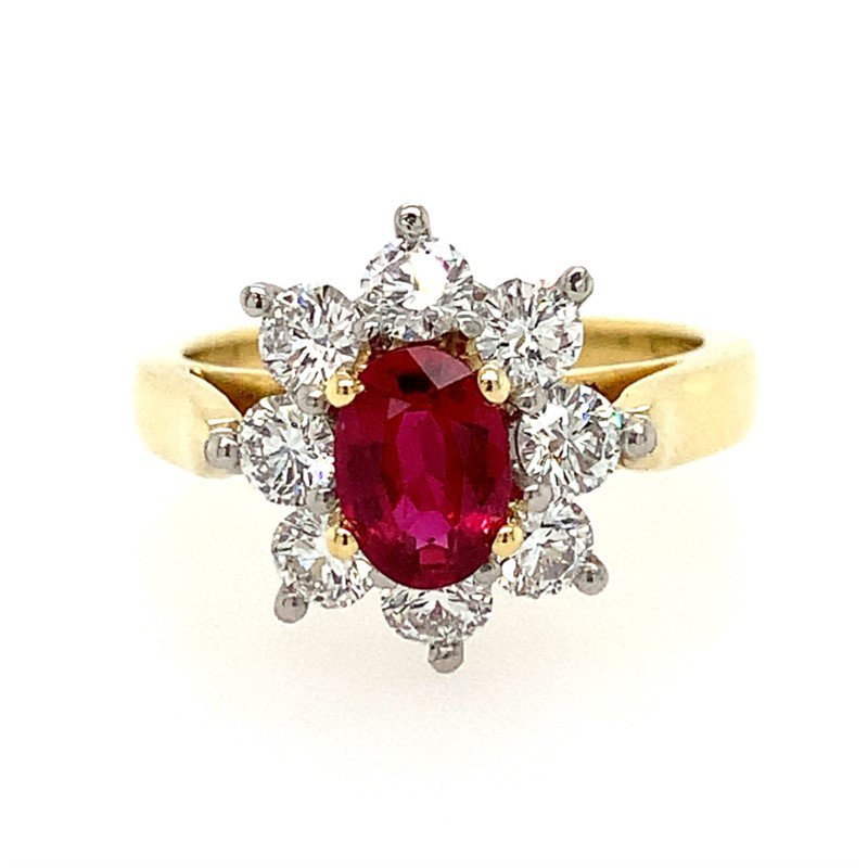 Moses Signature Ruby Ring