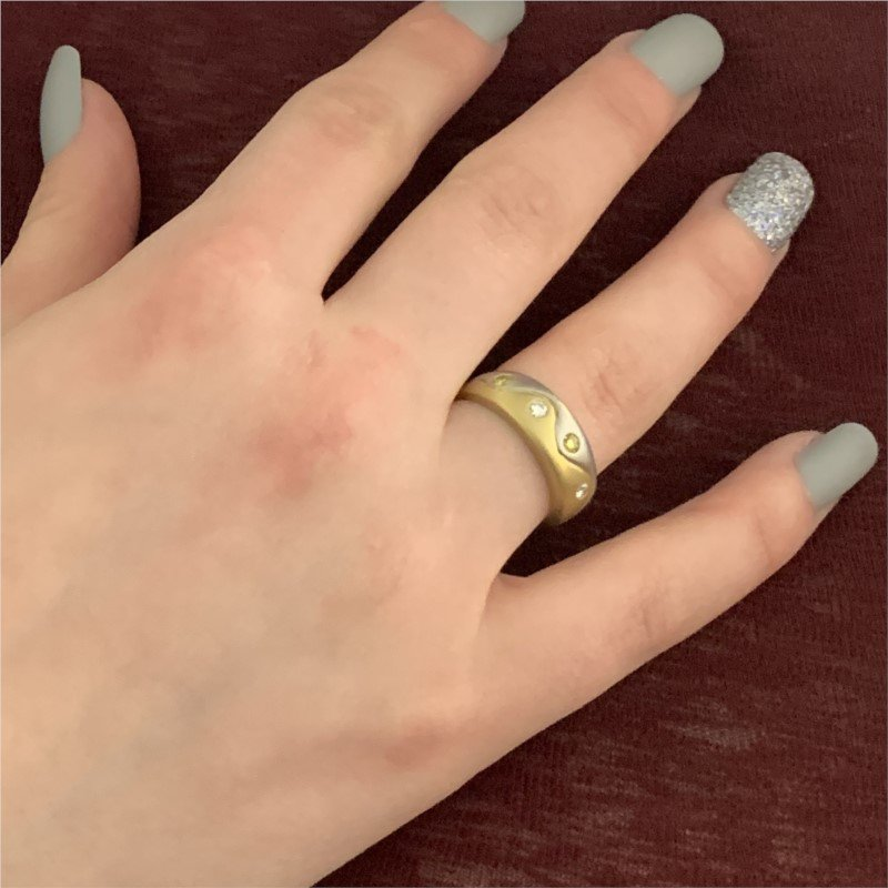 Signature Estate Fancy Yellow Diamond Ring