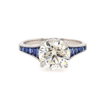 Art Deco Inspired Engagement Ring