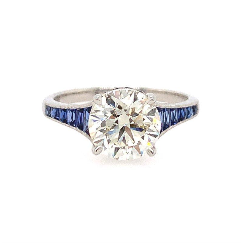 Signature Estate Art Deco Inspired Engagement Ring