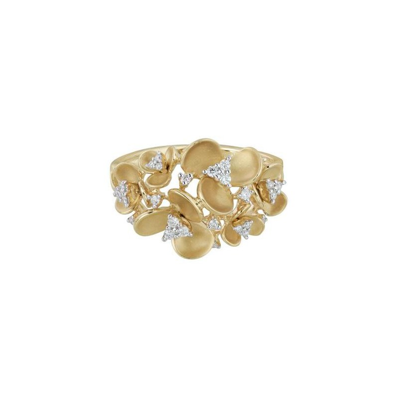 Wear-EVERY-Where Flower Ring
