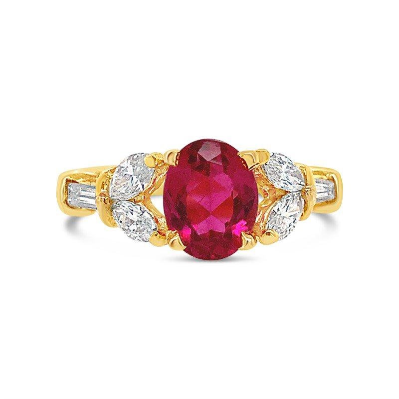 Signature Estate Pink Tourmaline Ring