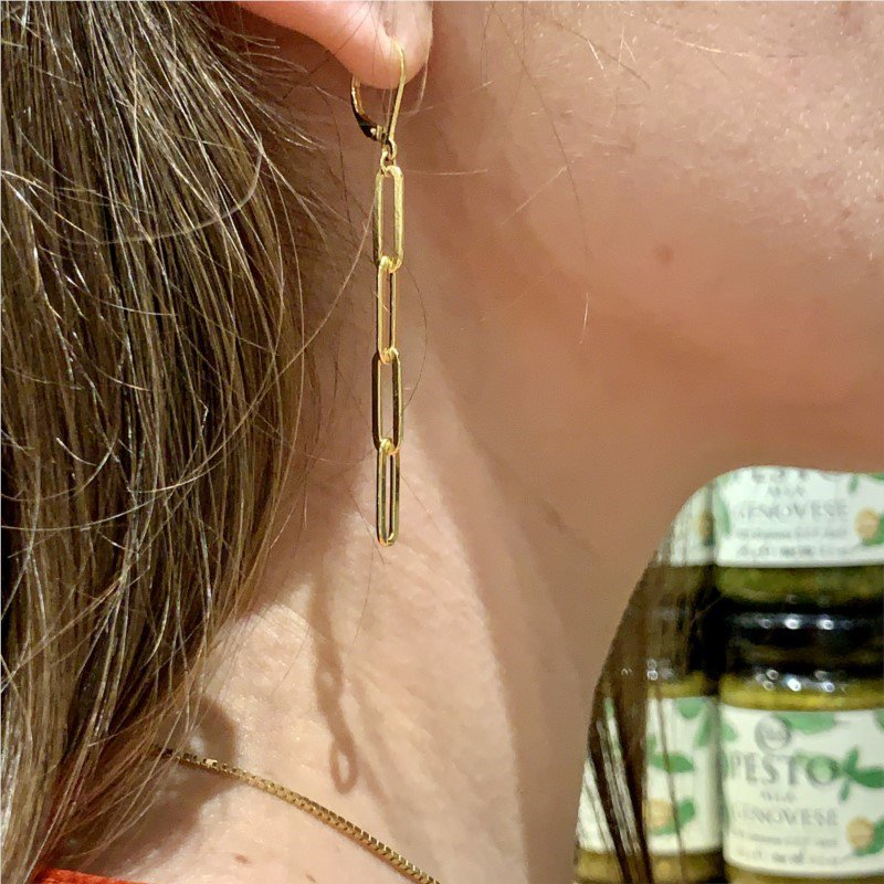 Charles Garnier Paris Paperclip Earrings