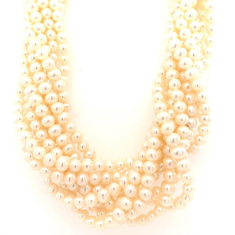 Signature Estate Multi-Strand Pearls