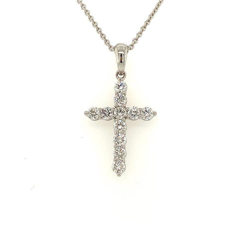 Moses Signature Diamond Cross