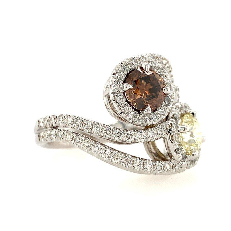 Signature Estate Fancy Color Diamond Ring