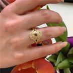 Moses Signature Brown Diamond Ring