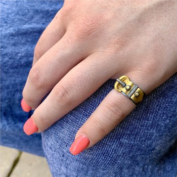 Deco Belt Ring
