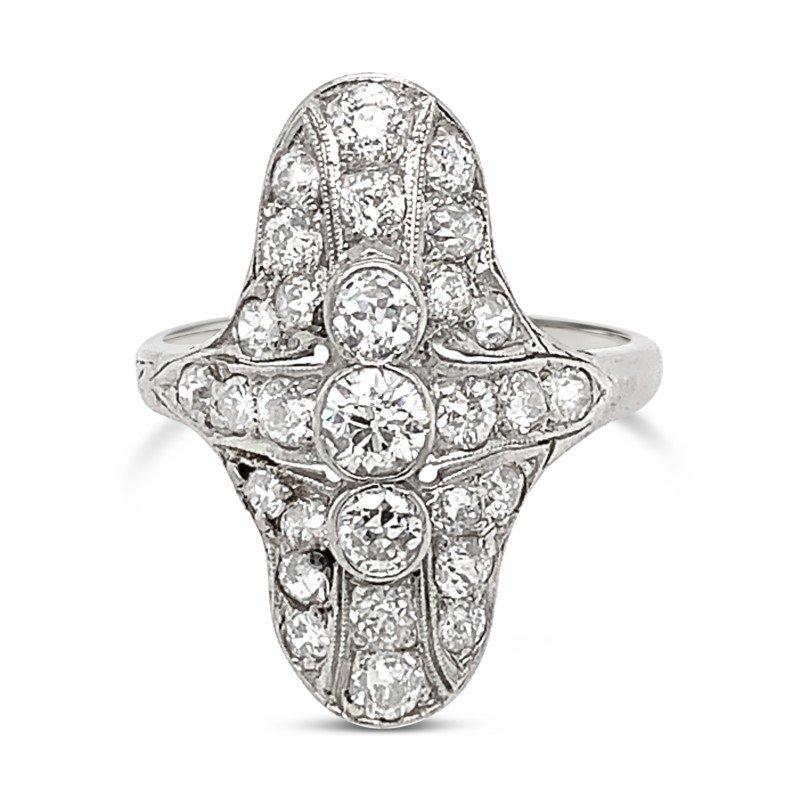 Signature Estate Art Deco Diamond Ring