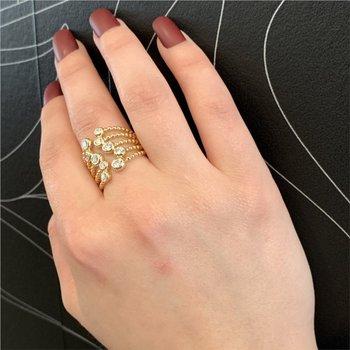 Nutmeg Cuff Ring