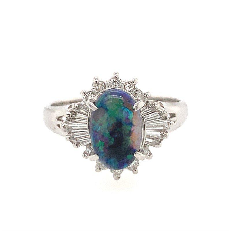 Signature Estate Black Opal Ring