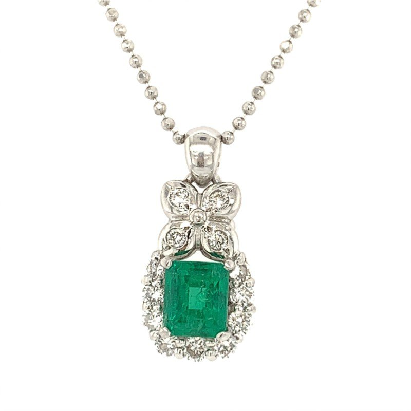 Signature Estate Emerald Necklace