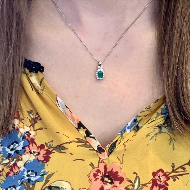 Signature Estate Emerald Necklace