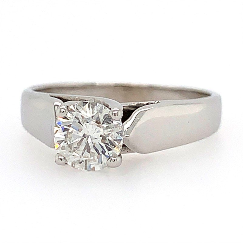 Signature Estate Solitaire Engagement Ring
