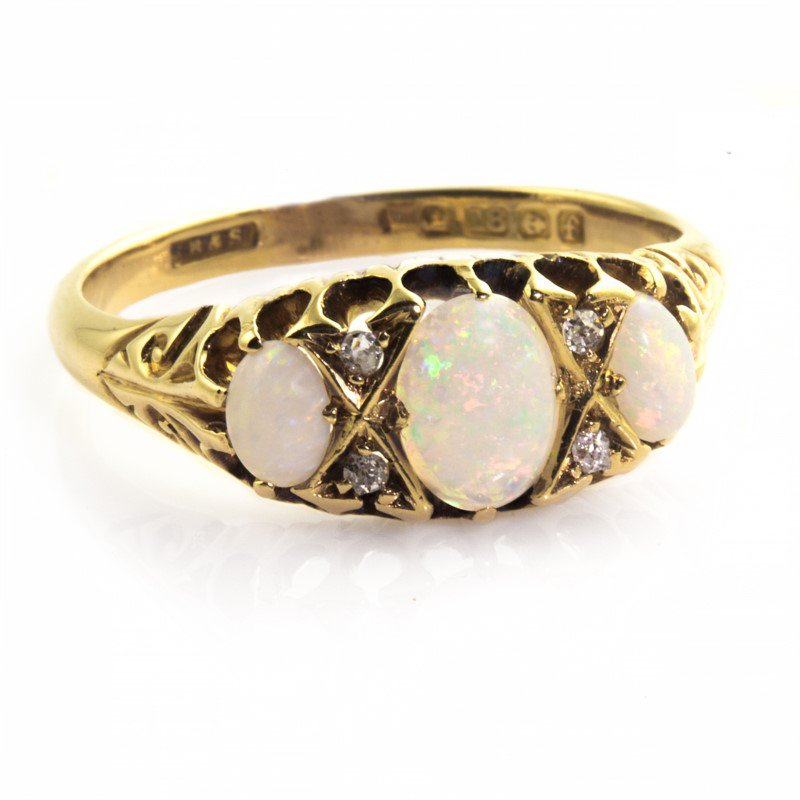 Signature Estate Victorian Opal Ring