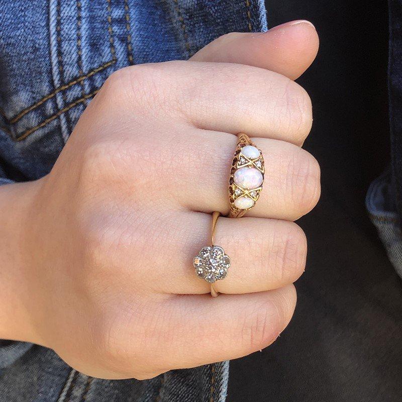 Signature Estate Victorian Opal Ring