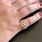 "Gumuchian ""B"" Ring"