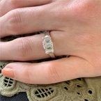 Signature Estate Three Stone Engagement Ring