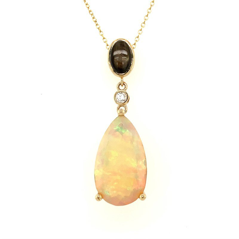 Moses Signature Opal Necklace